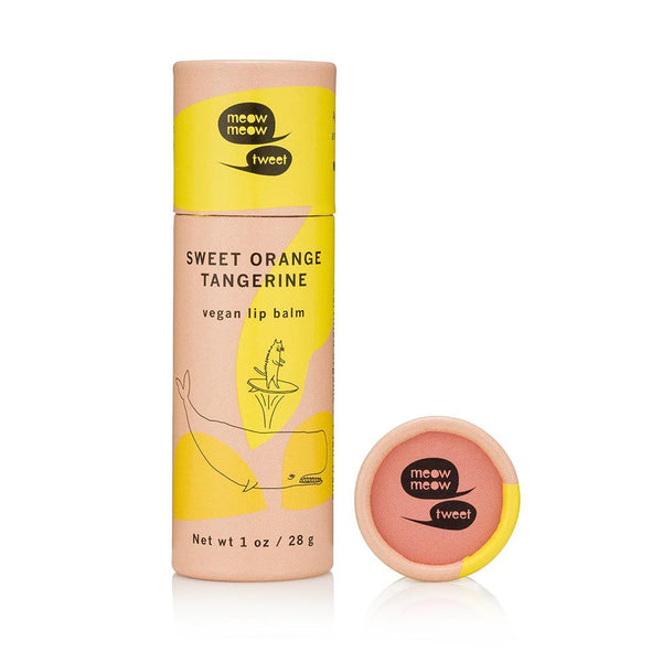 <br>Meow Meow Tweet</br> Vegan Lip Balm *New Scent & Packaging*