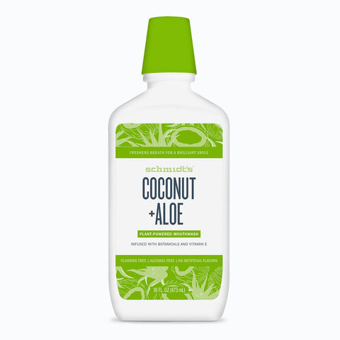<br>Schmidt's Naturals</br> Coconut + Aloe Mouthwash *New*