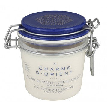 <br>Charme d'Orient</br> Perfumed Shea Butter with Argan Oil - Terrine Jar