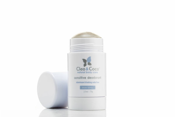 <br>Cleo & Coco</br> Sensitive Deodorant - Blue Tansy