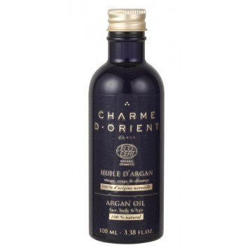 <br>Charme d'Orient</br> Non Roasted Organic Argan Oil - 100 ml