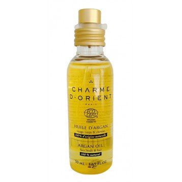 <br>Charme d'Orient</br> Non Roasted Organic Argan Oil - 50 ml
