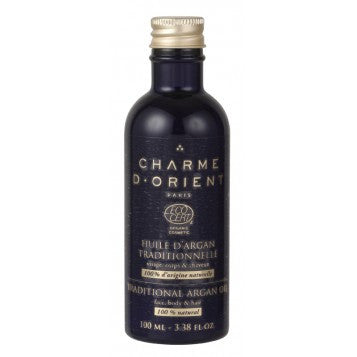<br>Charme d'Orient</br> Organic Traditional Argan Oil - 100 ml