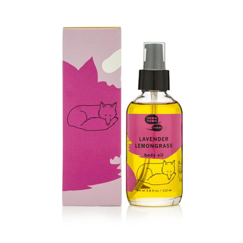 <br>Meow Meow Tweet</br> Lavender Lemongrass Body Oil *New*
