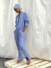 Load image into Gallery viewer, Tuta Chambray stripe jumpsuit