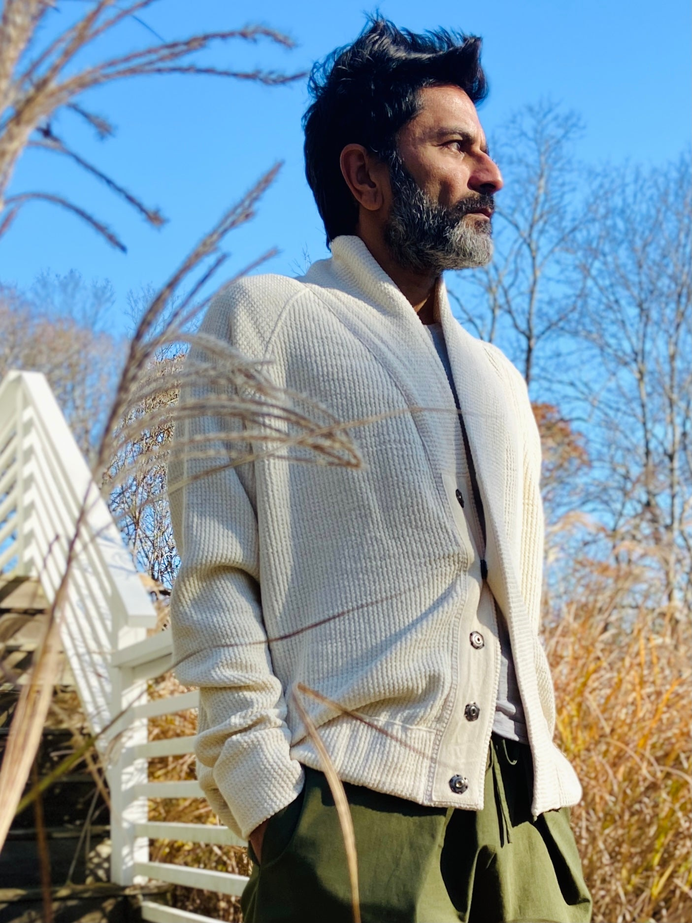 Awash Grandpa cardigan