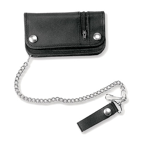 Leather Chain Wallet 643