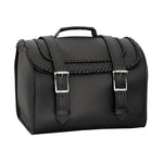 Interstate Leather Braided Trunk Bag I4020