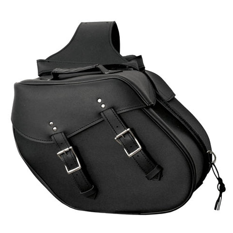 Interstate Leather Slant Saddlebag I4067