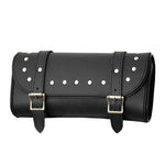 Interstate Leather Double Buckle Tool Bag I4516