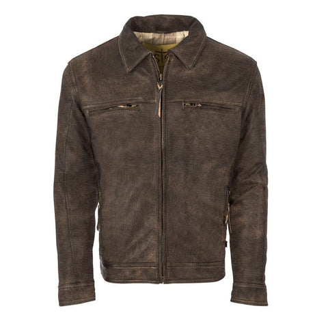 Turnback Jacket - Brown (Men's)