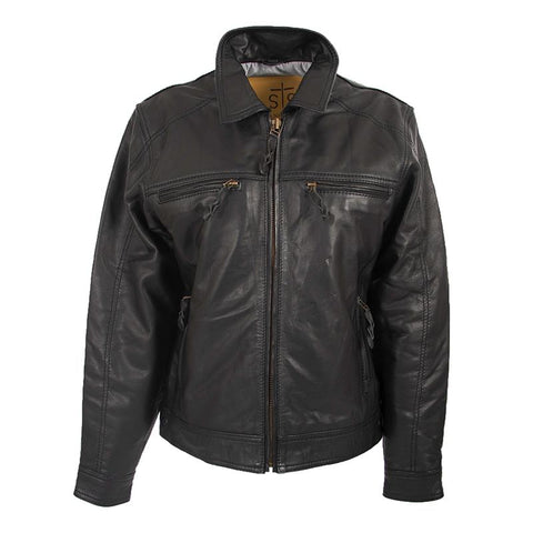 Turnback Jacket - Black (Women's)
