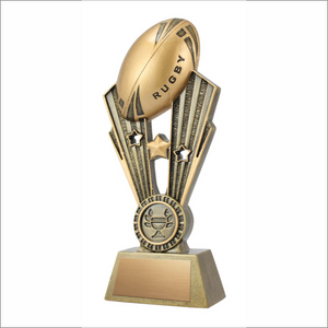 "Rugby 7.5"" trophy - Fame series"