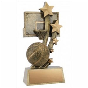 "Basketball 6"" trophy - Sentinel series"