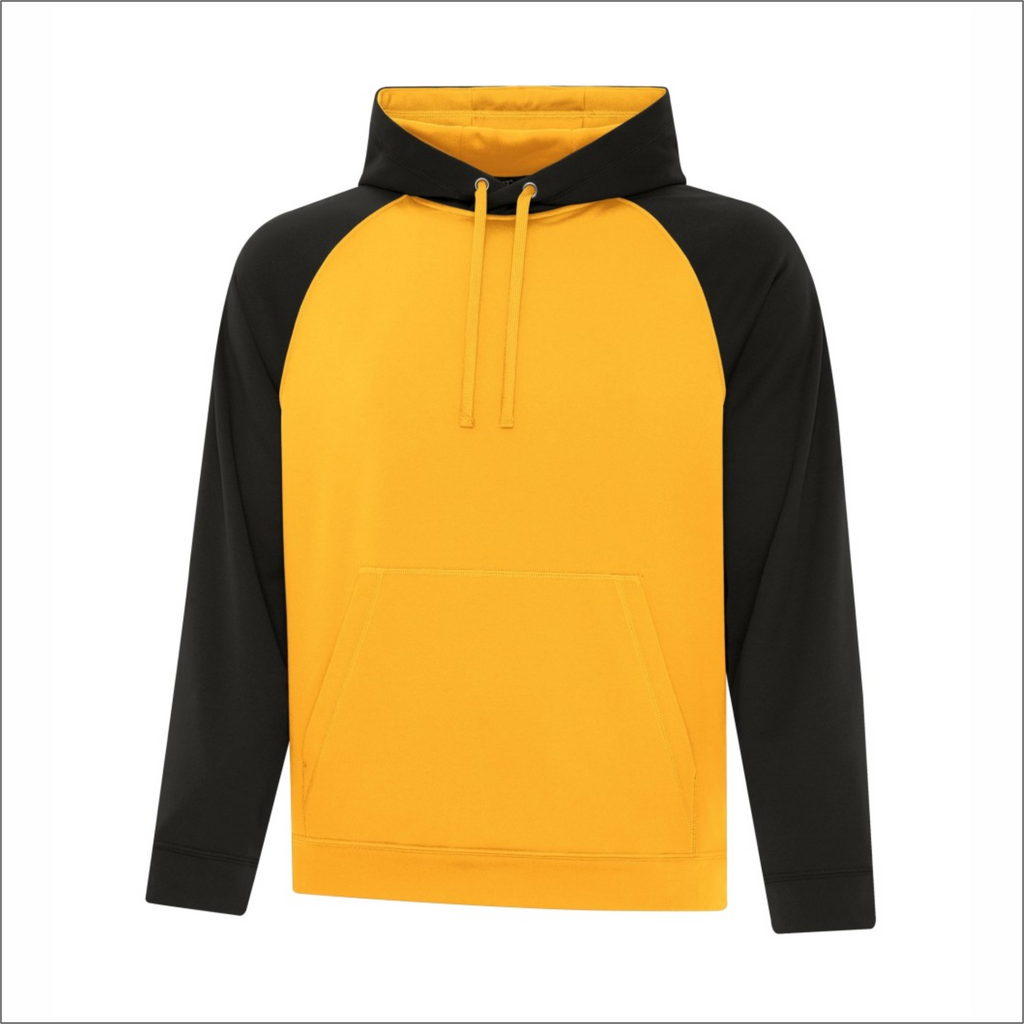 Adult Two-Tone Hoodie - Polyester - ATC F2037