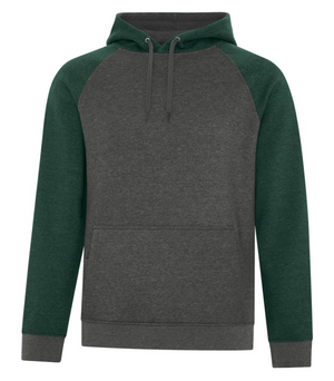 Adult Two-Tone Hoodie - Cotton/Polyester - ATC F2044