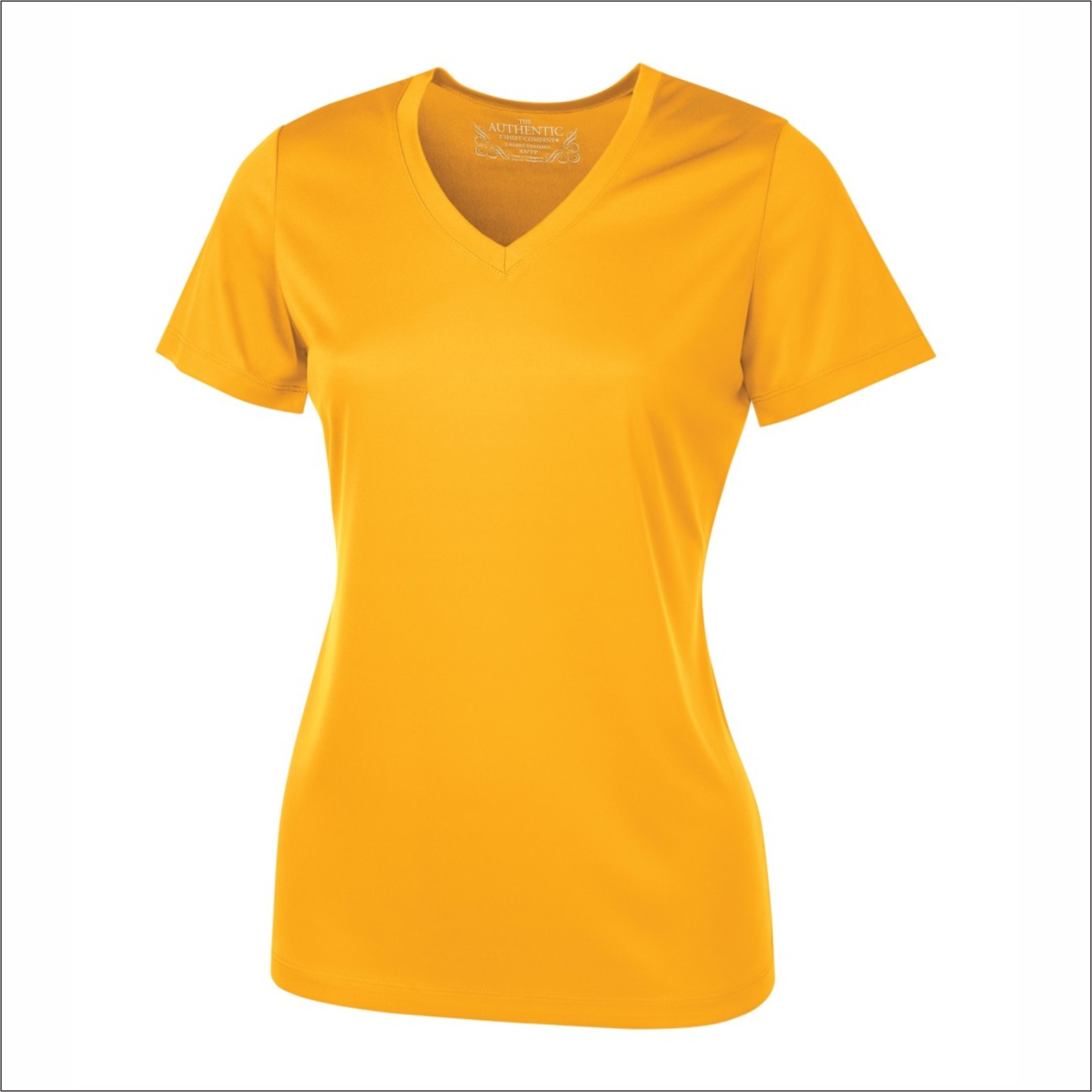 Ladies V-Neck T-Shirt - Polyester - ATC L3520