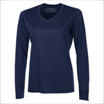 Ladies Long Sleeve Shirt - Polyester - ATC L3520LS