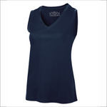 Ladies Sleeveless Tee - Polyester - ATC L3527