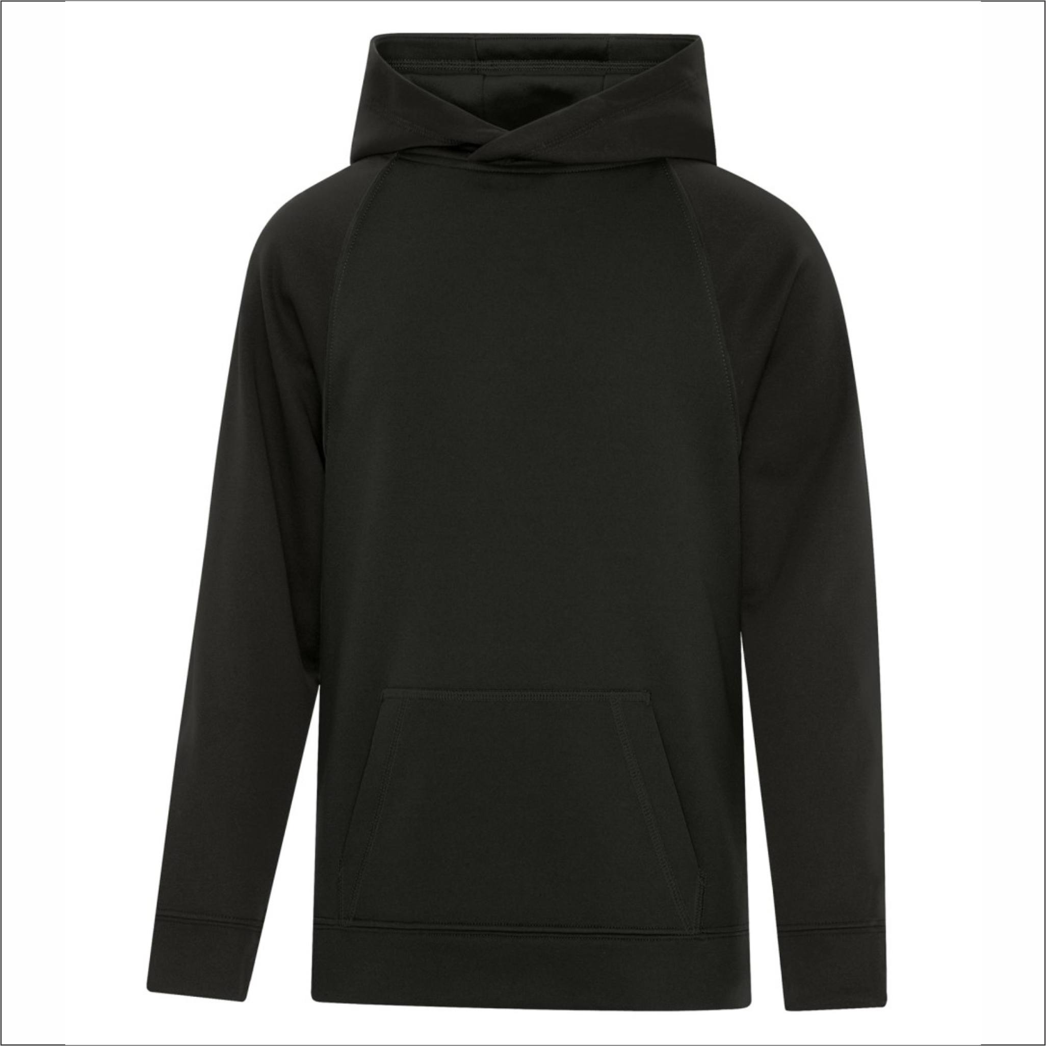 Youth Two-Tone Hoodie - Polyester - ATC Y2037