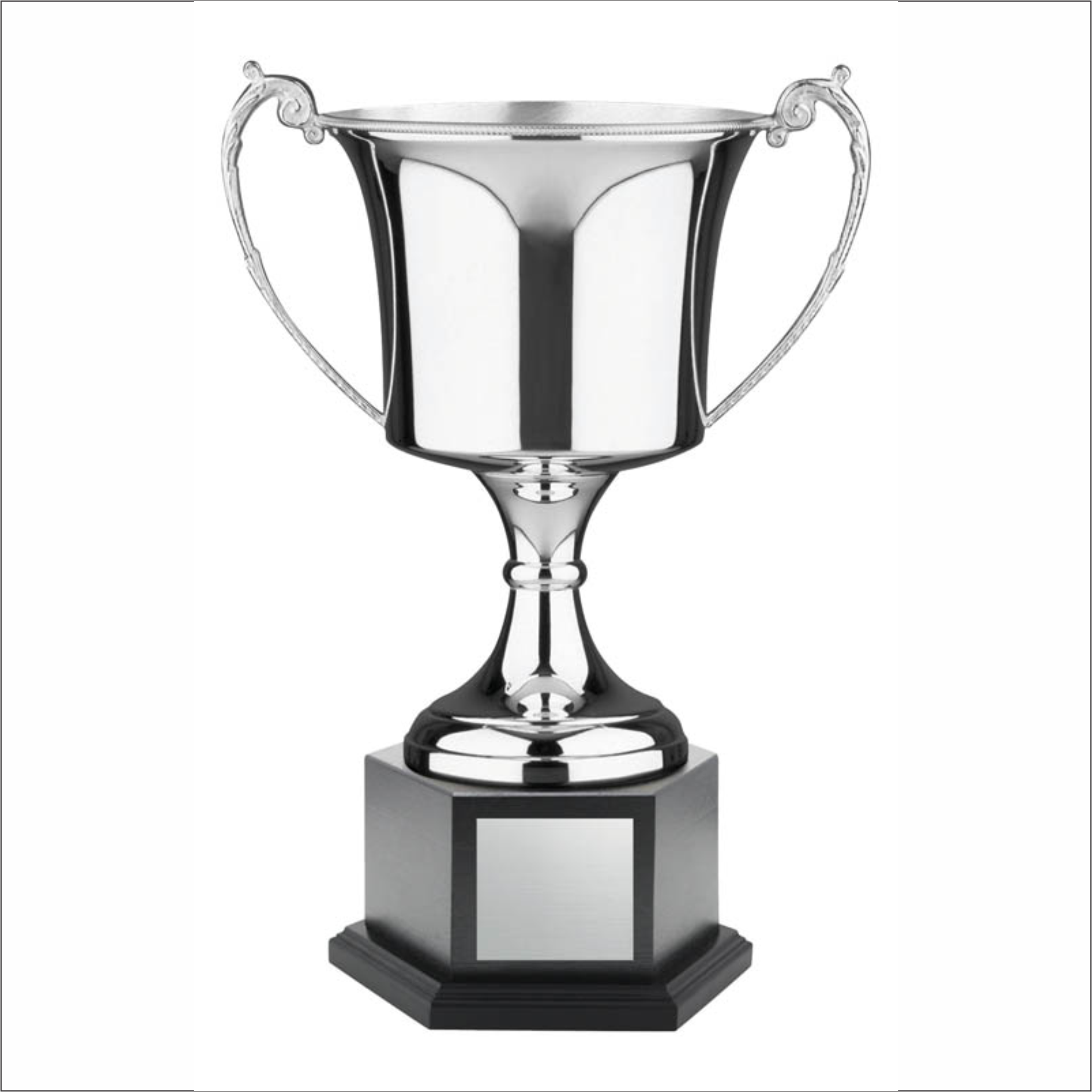 Nickel Plated Cup - Endurance - Hex Black Base