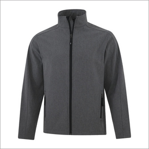 Mens Soft Shell Jacket - Coal Harbour J7603