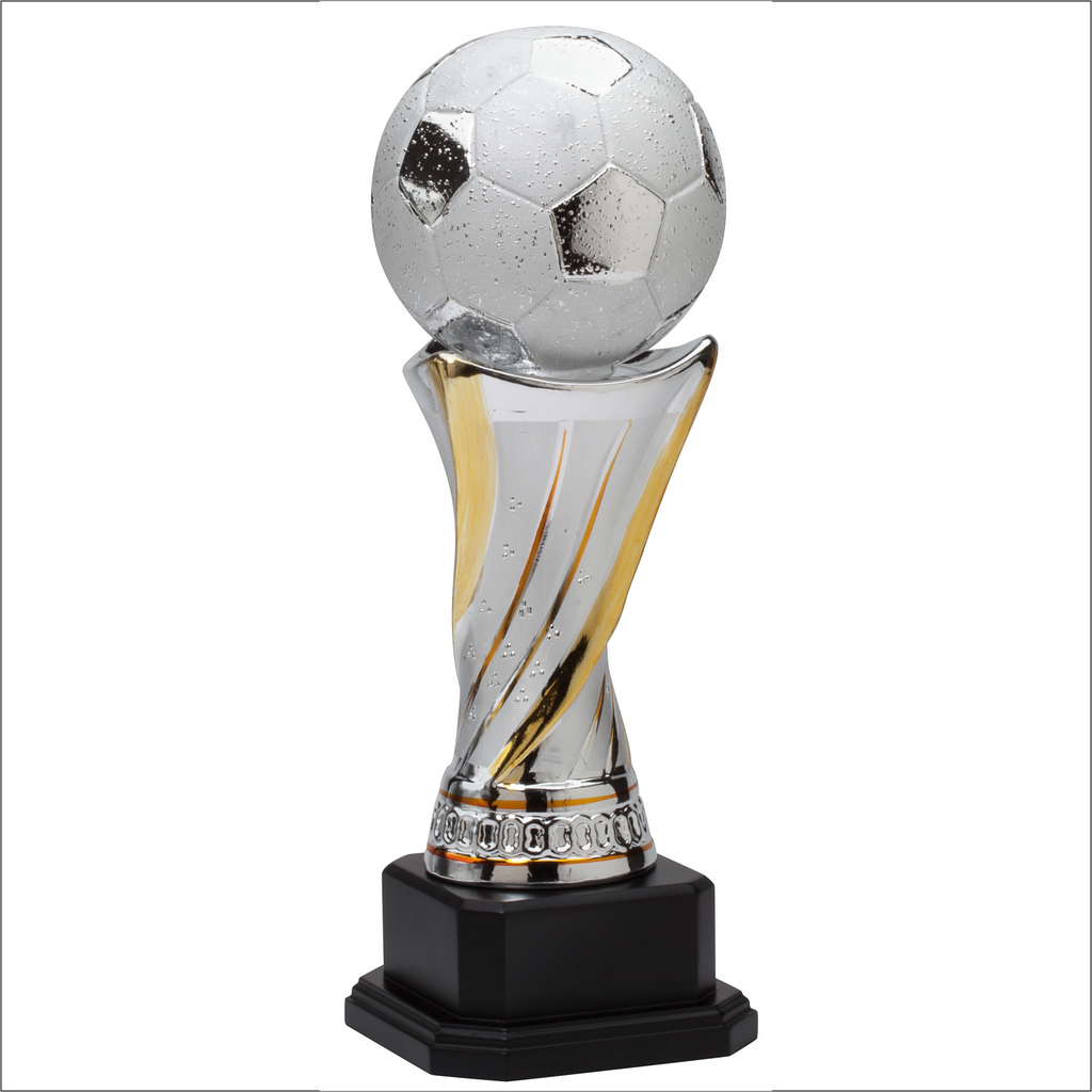 Soccer trophy - Ceramic Tower series