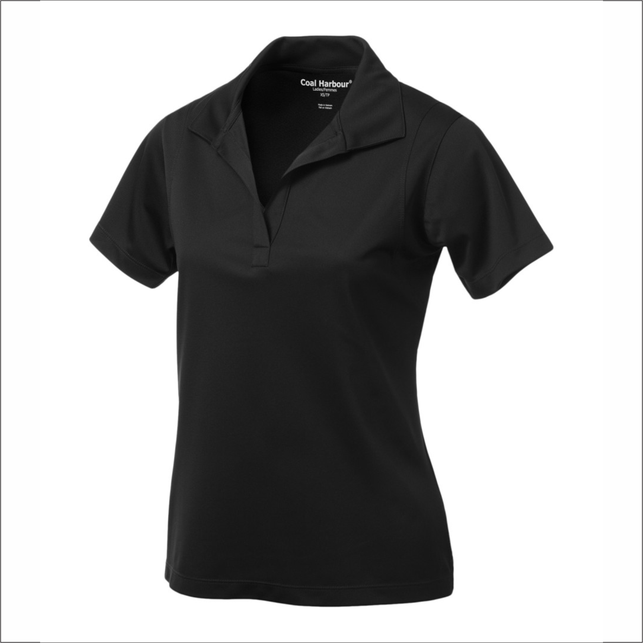 Ladies Polo - Polyester - Coal Harbour L445