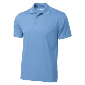 Mens Polo - Polyester - Coal Harbour S445