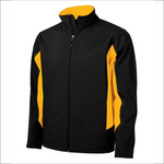 Mens Soft Shell Jacket - Two Tone - Coal Harbour J7604