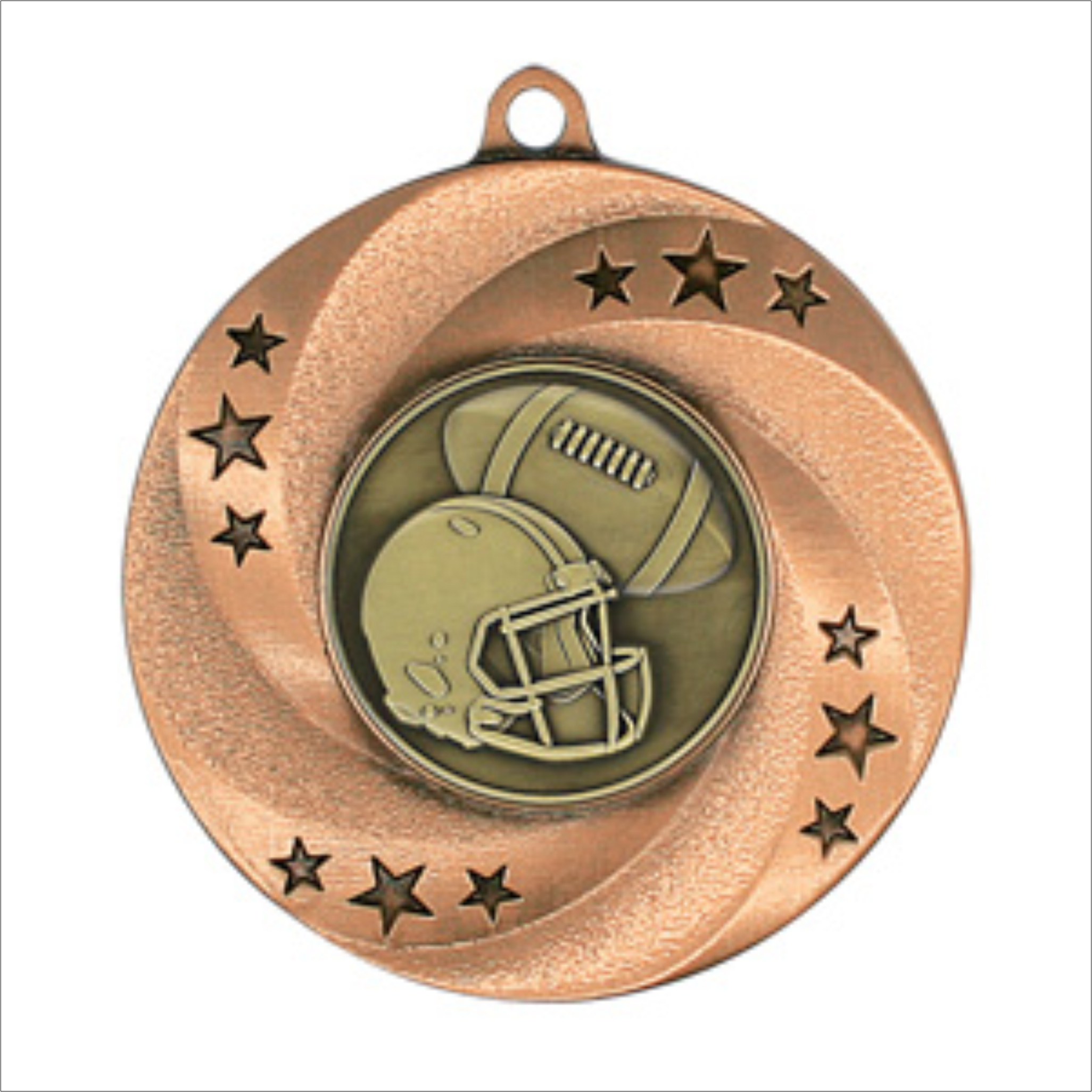 Football medallion - Matrix series