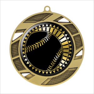 "Baseball 2.75"" medallion - Solar series"