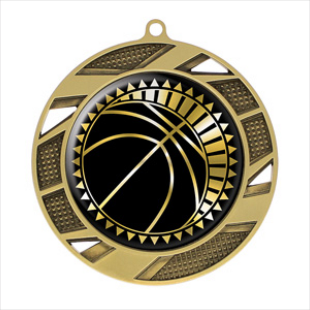 "Basketball 2.75"" medallion - Solar series"