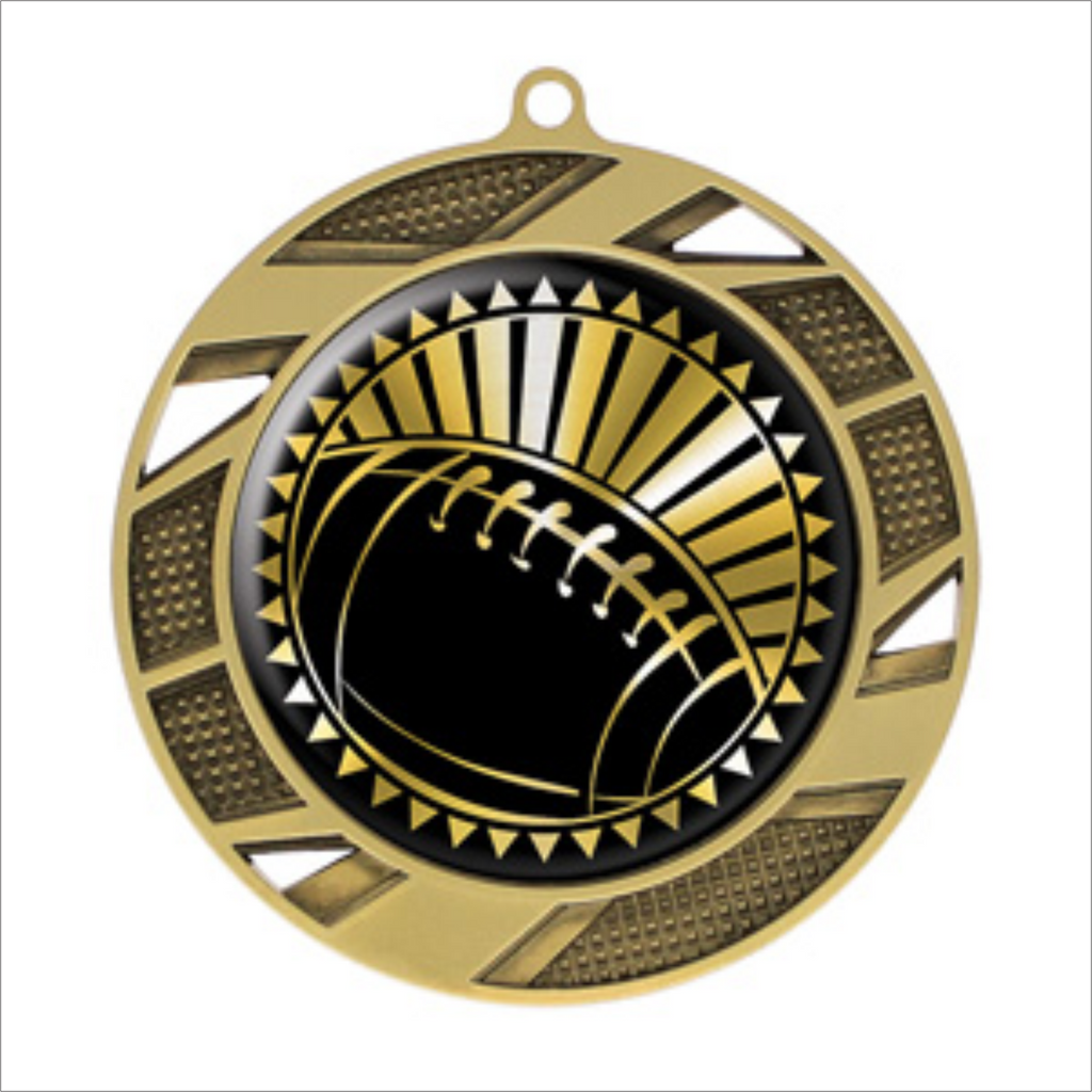 "Football 2.75"" medallion - Solar series"