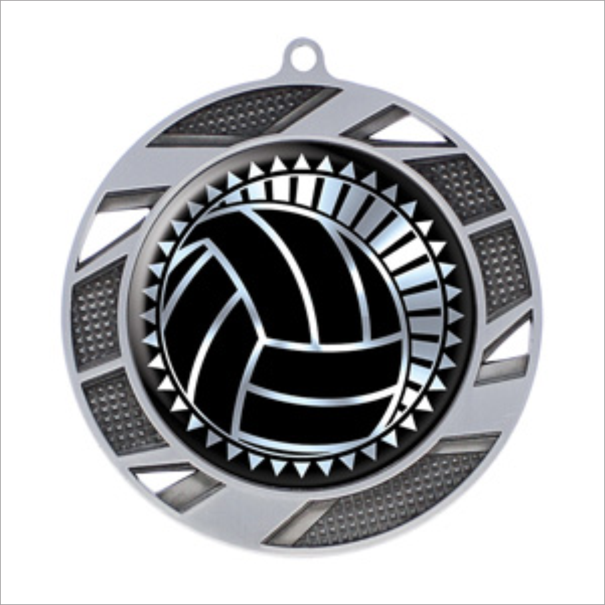 "Volleyball 2.75"" medallion - Solar series"