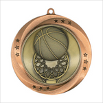 Basketball medallion - Matrix series
