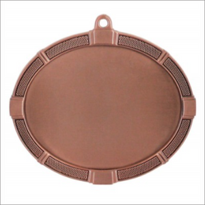 "Football 3.375"" X 2.625"" medallion - Impact series"