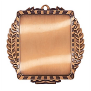 "Volleyball 3.5"" X 3.5"" medallion - Lynx series"