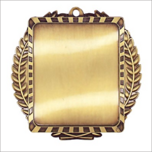 "Gymnastics 3.5"" X 3.5"" medallion - Lynx series"