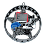 "Hockey 2.75"" medallion - Star series"