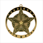 "Victory 2.75"" medallion - Star series"