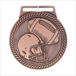 "Football 3"" medallion - Titan series"
