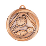 "Swimming 2"" medallion - Vortex series"