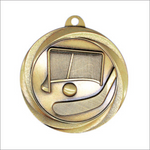 "Ball Hockey 2"" medallion - Vortex series"