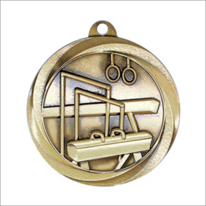 "Gymnastics 2"" medallion - Vortex series"