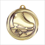 "Figure Skating 2"" medallion - Vortex series"