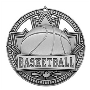 "Basketball 2.75"" medallion - Patriot series"