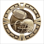 "Football 2.5"" medallion - Varsity series"