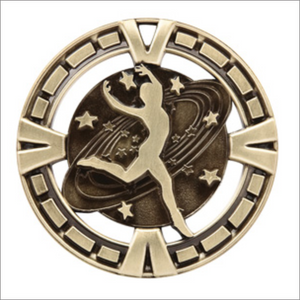 "Dance 2.5"" medallion - Varsity series"
