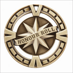 "Honour Roll 2.5"" medallion - Varsity series"
